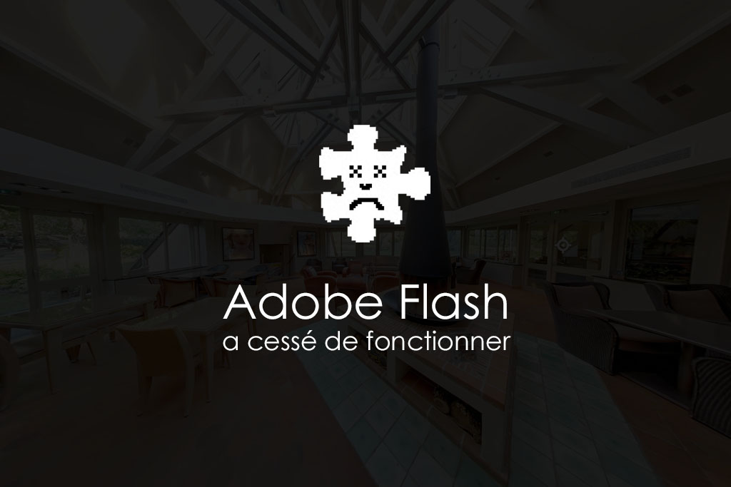 adobe flash a cessé de fonctionner