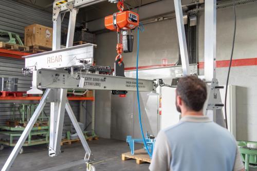 Machine industrielle (mise en situation)
